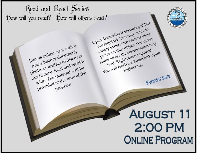 Read and React Aug 11