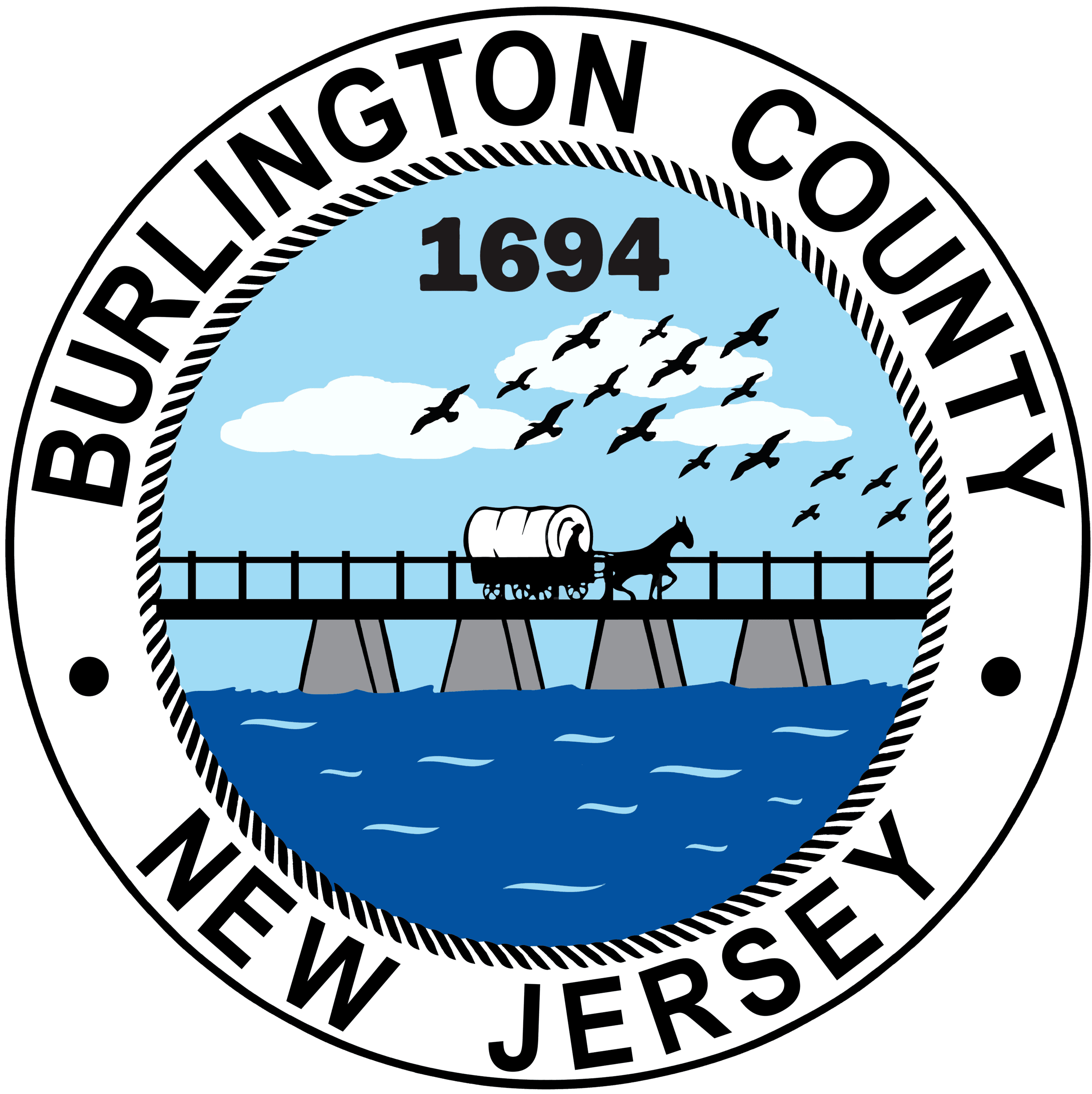 1- NEW Burlington County Seal -August 2020