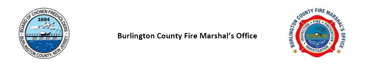Burlington County Fire Marshal's Office