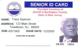 Burlington Website Nj - Official County Photo Id Senior Cards