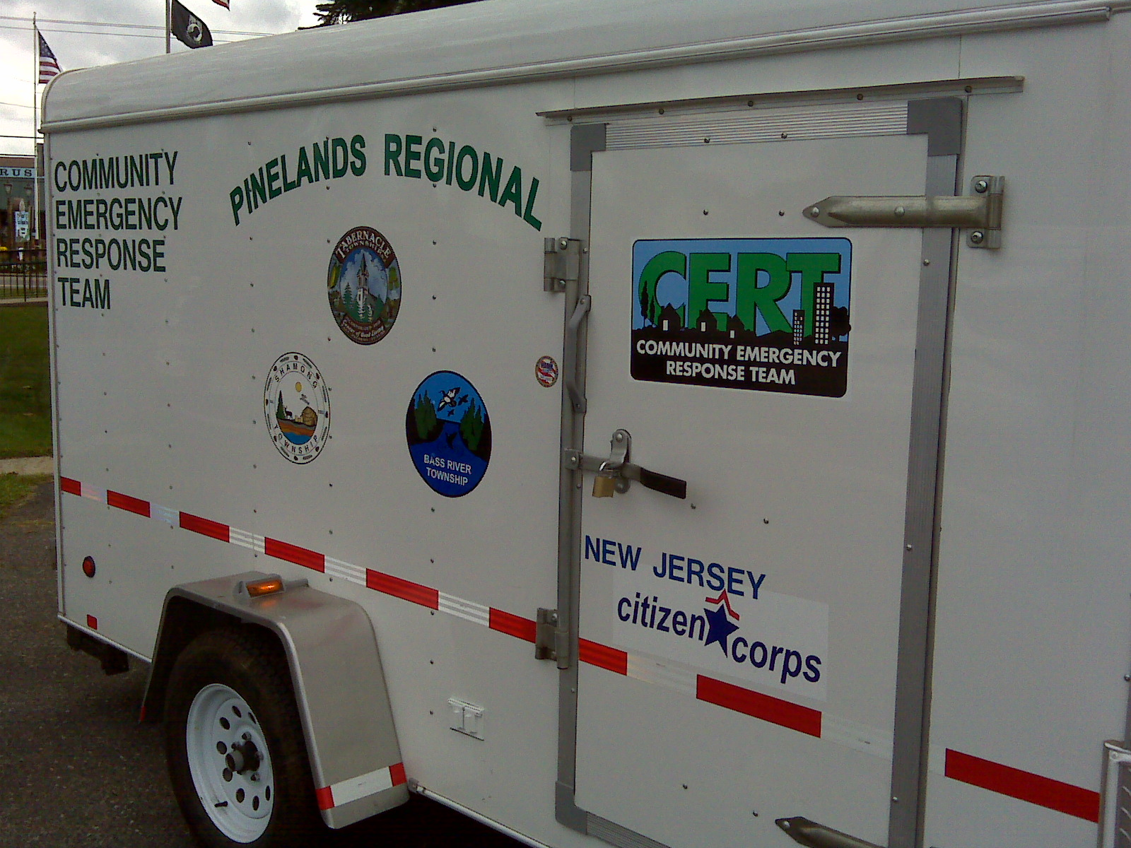 Pinelands CERT Trailer