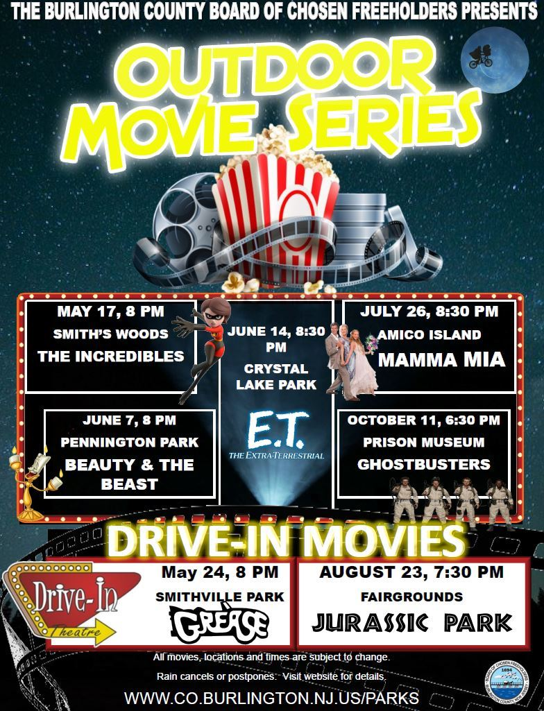 Outdoor Movie Night Series