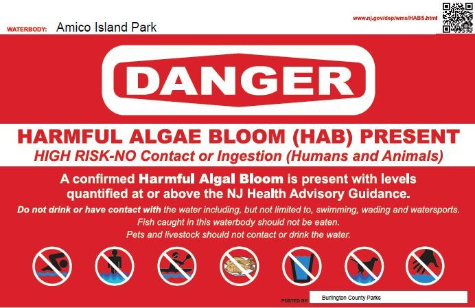 Harmful Algal Bloom Warning