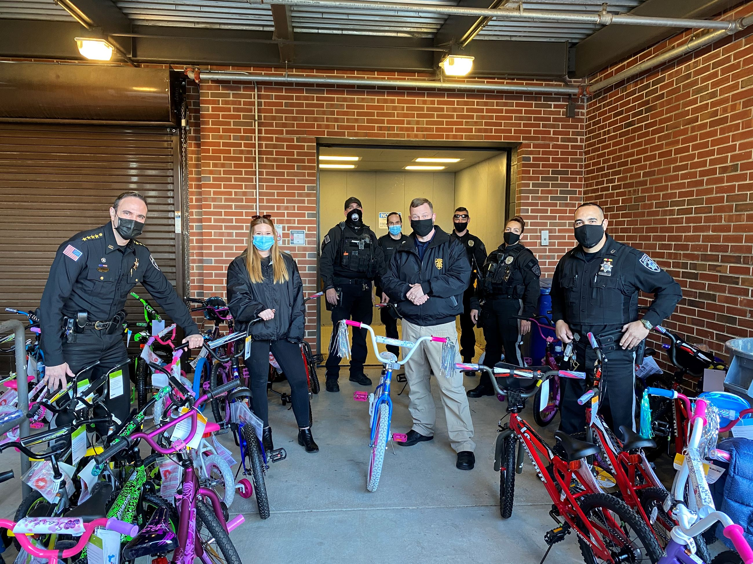 BIKES FOR TOY DRIVE