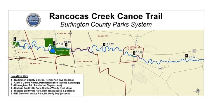 Rancocas Creek Canoe Trail