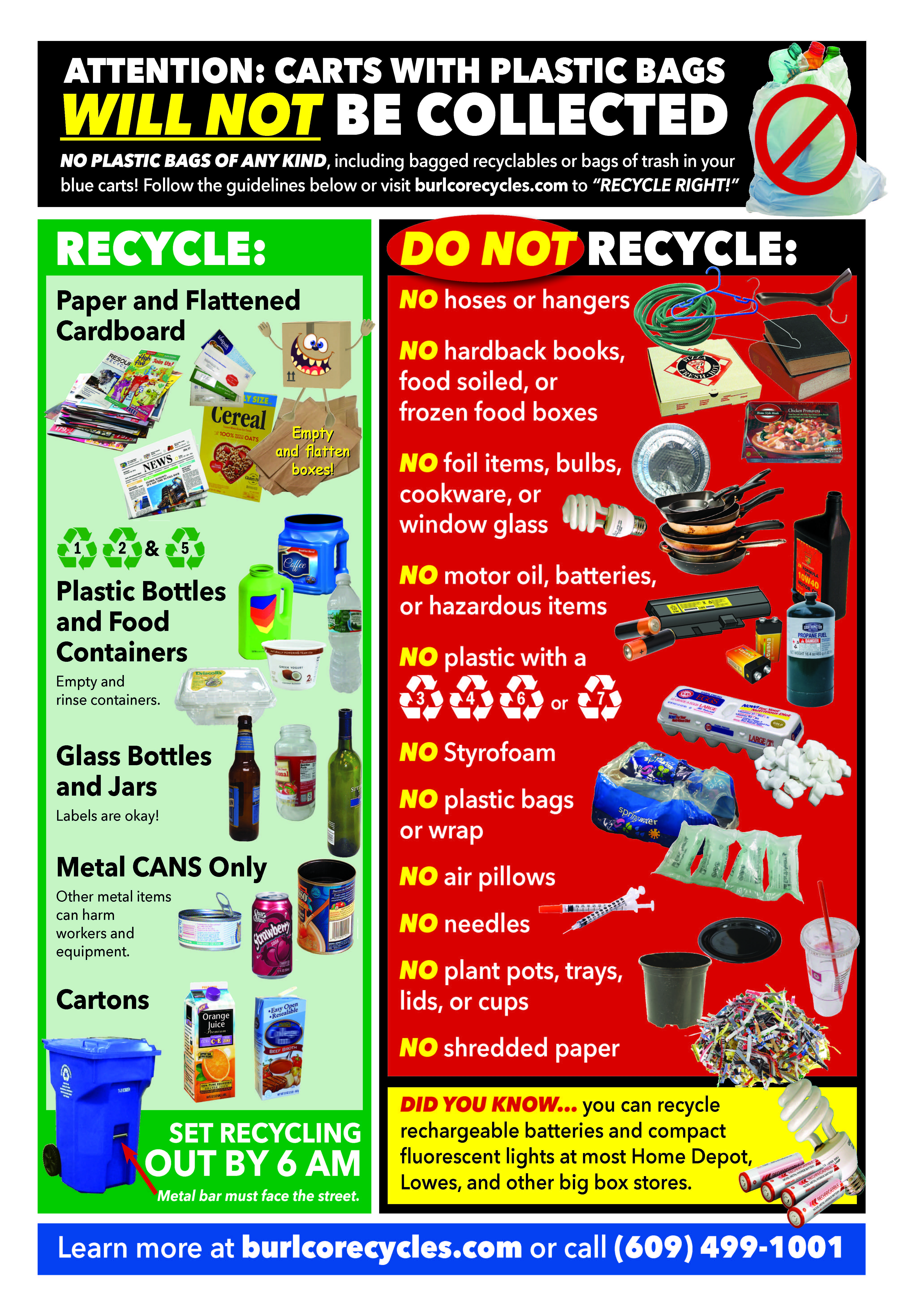 Fall 2019 Recycling Mailer Guidelines