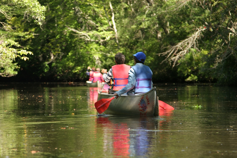 Rancocas Creek Canoe Trail   Burlington County, NJ