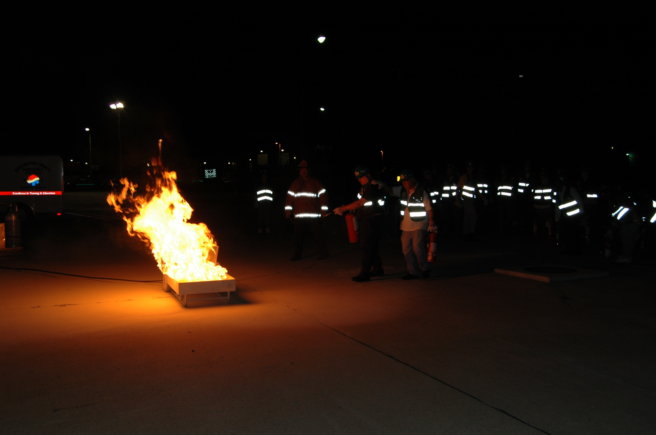 Basic CERT Fire Training