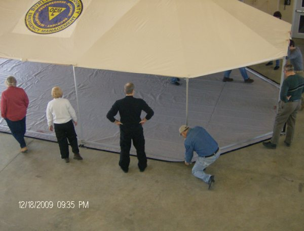 Western Shelter Tent Training
